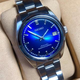 セイコー(SEIKO)のセイコー メカニカル プレサージュ 自動巻 自動巻き ブルー SARB009(腕時計(アナログ))