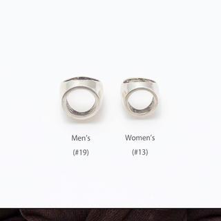 ビームス(BEAMS)のsoierie ソワリー frame ring フレイムリング(リング(指輪))