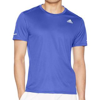 アディダス(adidas)のアディダス  ランニングウェア  Tシャツ   ブルー  (ウェア)