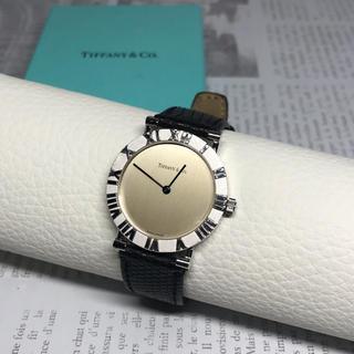 ティファニー(Tiffany & Co.)のティファニー アトラス 腕時計 M0640 シルバー925 クオーツ メンズ(腕時計(アナログ))