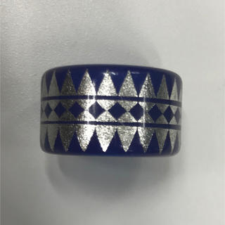 ガルニ(GARNI)のGARNI ガルニ 指輪 リング 16号 シルバー アクセ ブルー(リング(指輪))