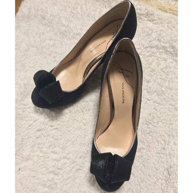 VIVA ANGELINA(ビバアンジェリーナ)のviva angelina ビバアンジェリーナ レースパンプス レディースの靴/シューズ(ハイヒール/パンプス)の商品写真