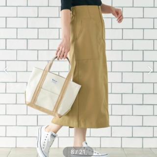 イエナ(IENA)の新品 le.coeur blanc フロントジップハイウエストタイトスカート(ひざ丈スカート)
