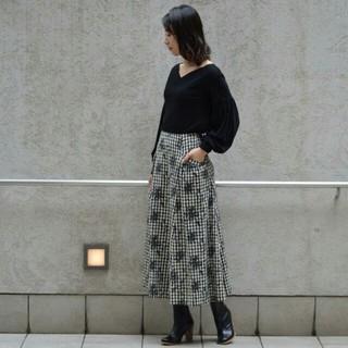 グリード(GREED)のGREED international☆ギンガムチェックマキシスカート(ロングスカート)