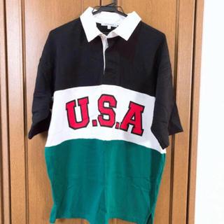 エムズエキサイト(EMSEXCITE)の【美品】EMS ビックポロシャツ Mサイズ(ポロシャツ)