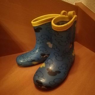 ブリーズ(BREEZE)の長靴 長ぐつ 16cm ミッキー 子ども用 キッズ ブリーズ BREEZE(長靴/レインシューズ)