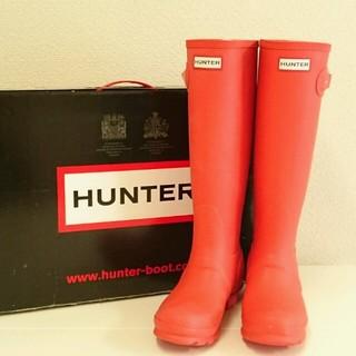 ハンター(HUNTER)の新品ハンター☆レインブーツ♥オレンジ(レインブーツ/長靴)