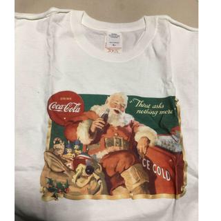 コカコーラ(コカ・コーラ)のコカ・コーラ Tシャツ  Lサイズ(Tシャツ/カットソー(半袖/袖なし))