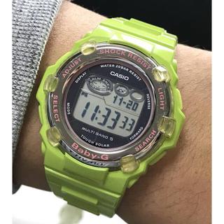 ベビージー(Baby-G)のbaby-G/G-SHOCK/イルクジ/BGR-3002K/電波ソーラー/美品(腕時計(デジタル))