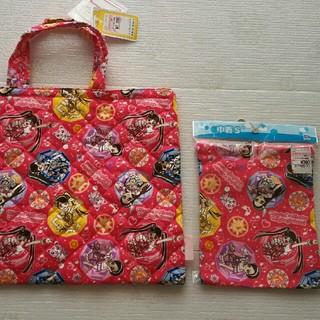 シマムラ(しまむら)の魔法戦士マジマジョピュアーズ レッスンバッグ 巾着S 日本製 新品(レッスンバッグ)