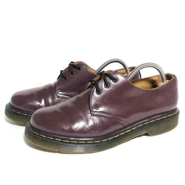 Dr.Martens(ドクターマーチン)のR242 ★5UK 24cm★Dr ドクターマーチン 3ホール パープル紫 レディースの靴/シューズ(ブーツ)の商品写真
