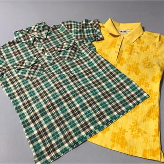 アディダス(adidas)の30 adidas アディダス 半袖ポロシャツ 2枚セット レディース(ウエア)