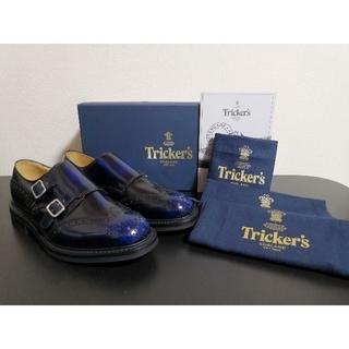 トリッカーズ(Trickers)の新品 Tricker's ダブルモンク UK7[半額以下](ドレス/ビジネス)