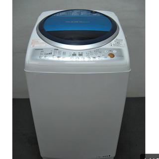 トウシバ(東芝)の美品 TOSHIBA 洗濯乾燥機 AW-GH80VL (洗濯機)