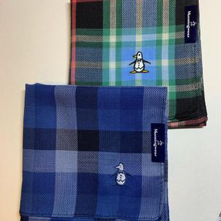 マンシングウェア(Munsingwear)のマシングウェア ハンカチ2枚(ハンカチ/ポケットチーフ)