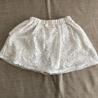 ジーユー(GU)のGU パンツ付きスカート 120(スカート)