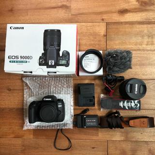 キヤノン(Canon)のキャノン EOS 9000D EF-S18-135 IS USMレンズセット(デジタル一眼)