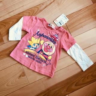 バンダイ(BANDAI)の【新品】お値下げ!アンパンマン★長袖 トップス 80(Tシャツ)