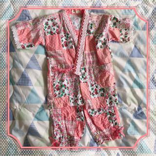 甚平 ルームウェア 女の子 110(甚平/浴衣)