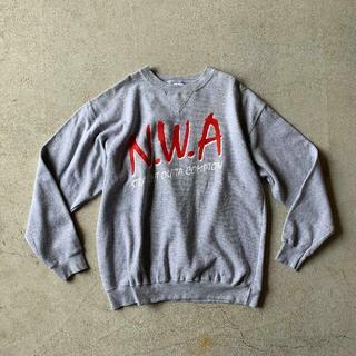 N.W.A クラシックロゴ スウェット size L *NWA スエット(スウェット)