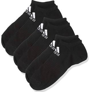 アディダス(adidas)の[アディダス] BASIC 3P アンクルソックス [ユニセックス] DMK57(ソックス)