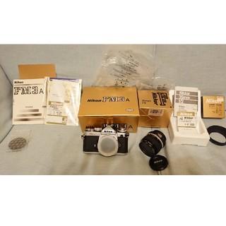 ニコン(Nikon)のNikon FM3AとNikkor 35mm f2 完動品 おまけ(フィルムカメラ)