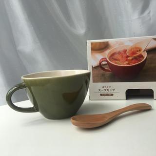 ママイクコ(MAMAIKUKO)のスープマグ・スプーンセット(食器)