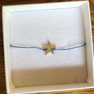 アッシュペーフランス(H.P.FRANCE)のレッドライン  ブレスレット  星  ダイヤモンド(ブレスレット/バングル)