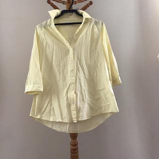 シマムラ(しまむら)の未使用 クロッシー Mサイズ 七分袖シャツ(シャツ/ブラウス(長袖/七分))