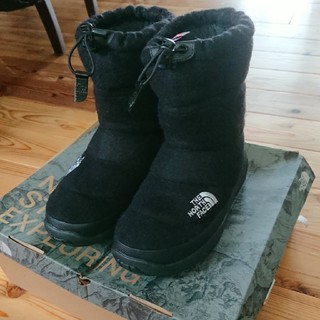 THE NORTH FACE -  Nuptse Bootie Wool Ⅱ