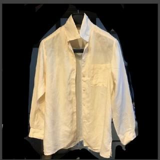 ブルネロクチネリ(BRUNELLO CUCINELLI)の麻100シャツ(シャツ/ブラウス(長袖/七分))