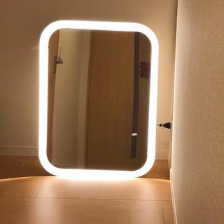 IKEA - 【IKEA/イケア】STORJORM ミラー ビルトイン照明付き, ホワイト