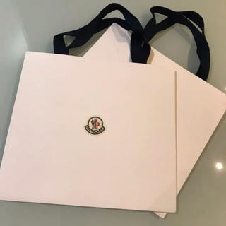 MONCLER - 【美品】モンクレール ショッパー袋 紙袋 Moncler 2枚セット