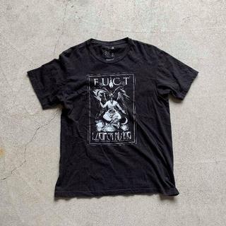 ファクト(FUCT)のFUCT ファクト SSDD プリント Tシャツ M 黒 ブラック USA製(Tシャツ/カットソー(半袖/袖なし))