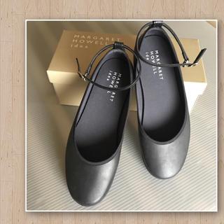 マーガレットハウエル(MARGARET HOWELL)のマーガレットハウエル アイデア✨黒のレインシューズ(レインブーツ/長靴)