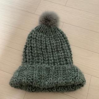 ローズバッド(ROSE BUD)のatelier brugge ニット帽(ニット帽/ビーニー)