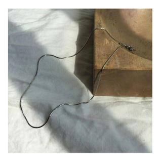 ディーゼル(DIESEL)のシルバースネークチェーンネックレスS925(ネックレス)