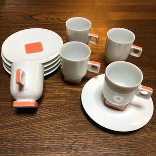 ノリタケ(Noritake)のノリタケ × ピエールカルダン  カップ&ソーサー 5セット(食器)