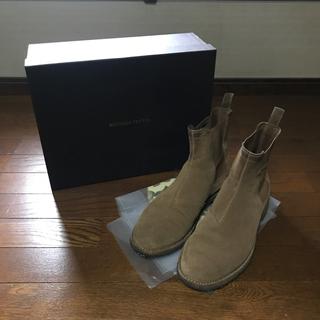ボッテガヴェネタ(Bottega Veneta)のキャメル スエード フォールトレッキングブーツ(ブーツ)