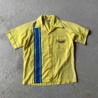 Swingster ヴィンテージ 70s ボーリング シャツ ワッペン 三角タグ(シャツ)