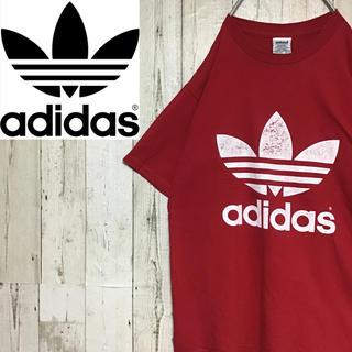 アディダス(adidas)の【アディダス】【USA製】【80s後期タグ】【ビッグシルエット】【Tシャツ】(Tシャツ/カットソー(半袖/袖なし))