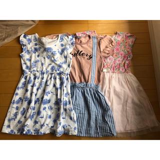 ベルメゾン(ベルメゾン)の女児 130サイズ 夏服 ワンピース(ワンピース)