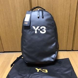 ヨウジヤマモト(Yohji Yamamoto)の新品未使用! Y-3 LOGO BACKPACK バックパック(バッグパック/リュック)