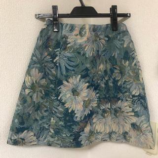 マーキュリーデュオ(MERCURYDUO)のマーキュリーデュオ 花柄 スカート(ミニスカート)