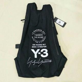 ヨウジヤマモト(Yohji Yamamoto)のy3バックパック リュック ブラック ウジヤマモト Y-3 ショルダーバッグ(バッグパック/リュック)