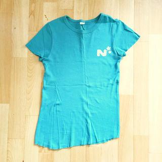 ブルー ストレッチ Tシャツ(Tシャツ(半袖/袖なし))