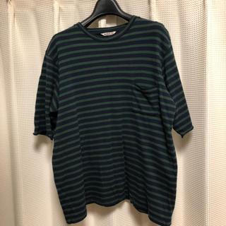 ラッドミュージシャン(LAD MUSICIAN)のオーラリー ボーダーカットソー(Tシャツ/カットソー(半袖/袖なし))