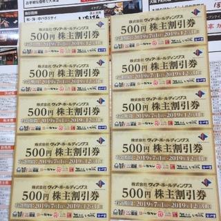 パステル やきとり扇屋など、食事金券5000円(レストラン/食事券)