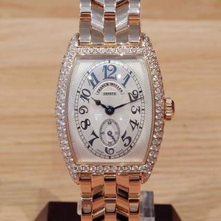 フランクミュラー(FRANCK MULLER)のヘンリー5306様の フランクミュラー 国内保証書 トノーカーベックス 無垢(腕時計)