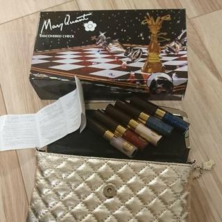 マリークワント(MARY QUANT)の新品マリークワントクリスマスキット☆ディスカヴァ-ドチェック(コフレ/メイクアップセット)